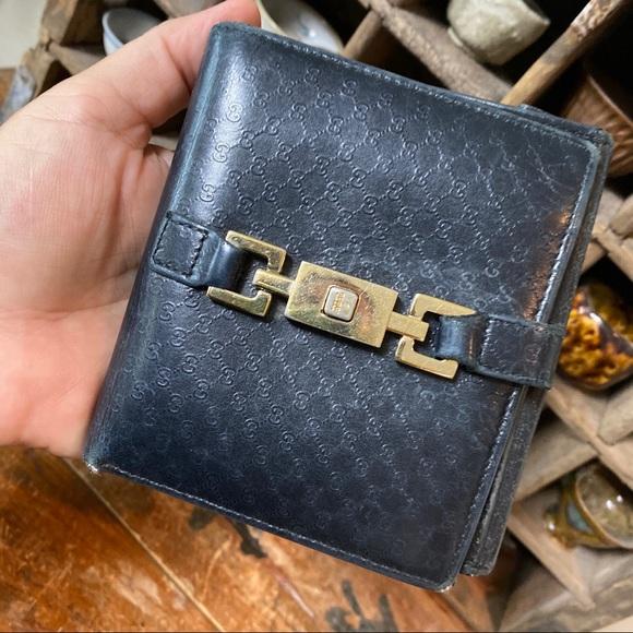 Gucci Handbags - Vintage Gucci wallet w lock